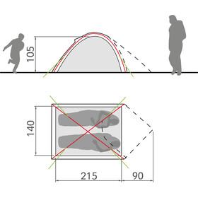 VAUDE Campo Compact 2P tent